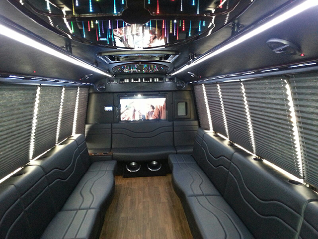 Luxury Coach 1 Interior